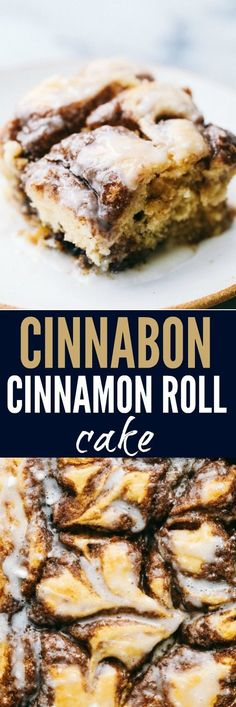 Cinnamon Roll Cake is a cinnamon roll turned into an gooey gooey delicious cake! Swirled with buttery brown sugar cinnamon and topped with a glaze… this is the BEST cake EVER! # Food and Drink health Cinnabon Cinnamon Roll Cake Cinnamon Desserts, Köstliche Desserts, Delicious Desserts, Dessert Recipes, Yummy Food, Cake Roll Recipes, Cinnamon Drink, Cinnamon Candy, Plated Desserts