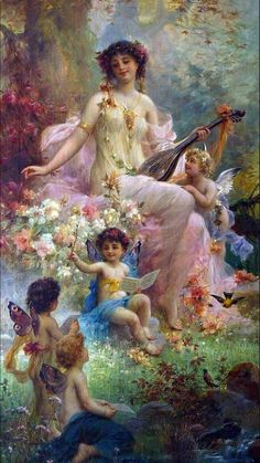 Not sure if this the right artist but this style of art looks like Hans Zatzka