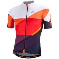 Nalini Campione Short Sleeve Jersey - Orange Sports & Leisure | ProBikeKit.com