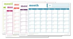 Free Printable Spreadsheets Blank Secretary Sheet  Pinterest  System Requirements