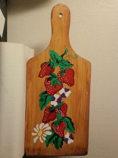 Strawberry Cutting Board | Strawberry Cutting Board by InspriationWorkshop on…