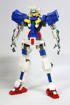 Gundam GN001 Exia lego | Flickr - Photo Sharing!