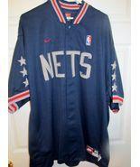 Brooklyn NJ Nets 1980 Throwback Retro NBA Warm-Up Jacket X-large - $42.49