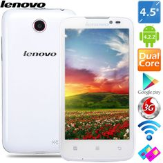 "(LENOVO) A516 4.5"" MTK6572 Android 4.2.2 Dual Core WiFi 3G Phone  http://www.minitake.com/es/lenovo-a516-45-mtk6572-android-px1y21i-p-85797.html"