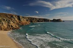 iWalk Porthcurno to Gwennap Head - a circular walk from Porthcurno passing the tiny cove at Porthgwarra that features heavily in the series and the granite cliffs between Gwennap Head and Land's End which also feature - 5.4 miles moderate-strenuous - http://iwkc.co.uk/wa/181.  Photos on the route: https://www.pinterest.com/iwalkcornwall/iwalk-porthcurno-to-gwennap-head/