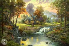 webneel.com daily sites default files images project disney-paintings-thomas-kinkade%20(8).jpg