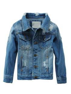 Mallimoda Baby Boys Girls Denim Jacket Button Down Jean Coat Outwear Denim Size 8. 100% Cotton. Size:Fit height 90-140cm(please see the size chart in our picture). Machine wash and hand wash. Style:Front snap buttons,two chest pockets and two side pockets. Occasion:casual,formal,party,daily life,school.