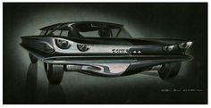 AMC Cuda +44  Design from 1959-1960 by George S. Lawson