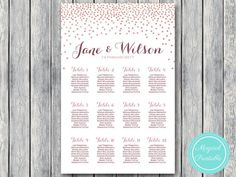 168 best wedding seating chart printable images on pinterest