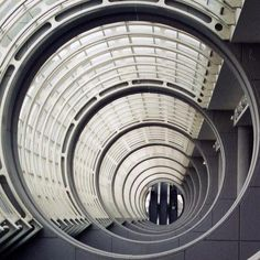 Escalator at the end of a tunnel | San Diego Convention Center