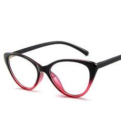 f372fac4a42 cat women eyeglasses small face full frame glasses light weight prescription  glasses frame luxury brand design