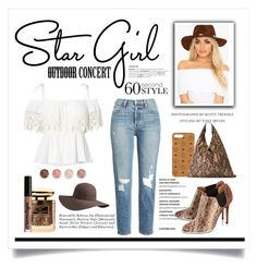"""""""Star Girl"""" by conch-lady ❤ liked on Polyvore featuring MCM, Frame, Givenchy, MM6 Maison Margiela, Scala, By Terry, Ralph Lauren, NYX, Terre Mère and stargirl"""