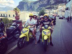 Friends scootering on Capri, Italy Positano, Friends, Italy, Boyfriends, True Friends