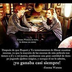 Emma y Rupert <3