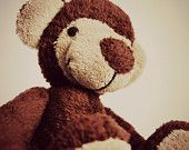 Hand sewn plush monkey MONTI ;)