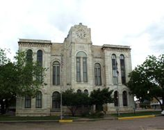 Bosque County Courthouse, Meridian, Texas #Travel #HistoricCourthouses