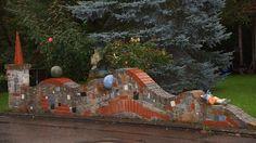 Märchenhafte Gartenmauer