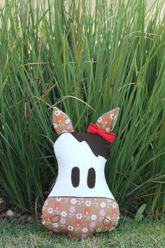 #Almofada #Cavalo #menina com zíper para compor  uma #decoração divertida! #cushion #pillow #horse #zipper