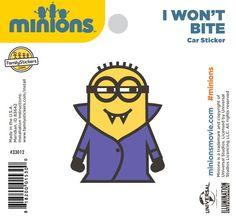 I Won't Bite Sticker - 33012 $2.98