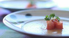 Sopa fria de esparragos - Recetas de cocina