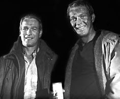 YES!!!  Paul Newman and Steve McQueen