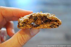 CLEAN FREAK: {gluten & dairy free} Chocolate Chip Oatmeal Cookies