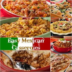 16 Easy Mexican Casseroles | Celebrate Cinco de Mayo everyday with these easy Mexican casseroles. From an enchilada casserole to a family-favorite Mexican Breakfast Bake, we've got an easy Mexican casserole for everyone!