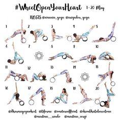 "477 Likes, 15 Comments - The Original Yoga Wheel (@dharmayogawheel) on Instagram: ""• #WheelOpenYourHeart • YOGA CHALLENGE 1-20 May Hosts: @ainania_yoga @arigador_yoga ⭐️Sponsors:…"""