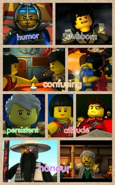 Elements of ninjago... things I've learned in my training...