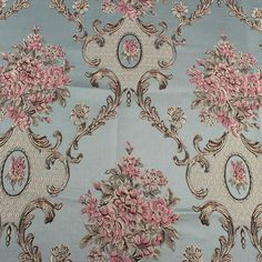 Classic flower brocade upholstery fabric damask jacquard garments thick clothes curtain by yard Sequin Fabric, Brocade Fabric, Tulle Fabric, Fabric Flowers, Suede Sofa, Floral Embroidery Dress, Flower Curtain, Cotton Curtains, Motif Floral