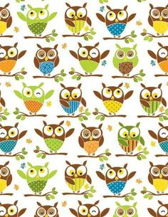 """Animal print wrapping paper is in fashion again. In fact anything with animal print on it is """"in"""" right now, so if you do like decorating. Owl Wallpaper, Pattern Wallpaper, Print Wrapping Paper, Gift Wrapping, Scrapbook Paper, Scrapbooking, Backgrounds Wallpapers, Laptop Backgrounds, Christmas Owls"""