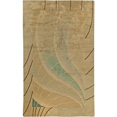 French Deco Rug by Fernand Windels | From a unique collection of antique and modern western european rugs at https://www.1stdibs.com/furniture/rugs-carpets/western-european-rugs/