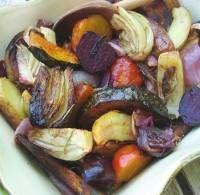 Roasted Winter Vegetables - Easy Roasted Vegetables Recipe