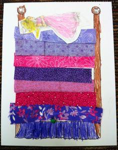 Fairytale Craft -Princess and the Pea www.letsgetreadyforkindergarten.com