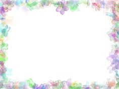 Floral frame background #1099