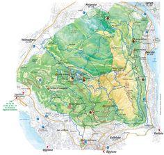 Parco Monte Barro - Gli itinerari