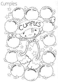Los alumnos pueden preguntar a sus compañeros cuando es su cumpleaños y lo pueden escribir aqui :)