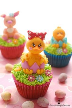 *EASTER ~ Chick!!! by Little Cottage Cupcakes.