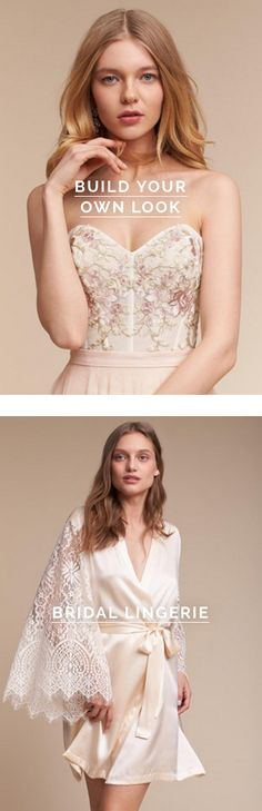Build your own look >> bridal >> wedding