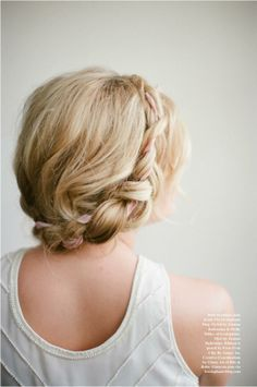 How to: Halo Braid with Ribbon
