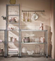 Betere De 55 beste afbeeldingen van IKEA OMAR | Stellingkast, Appartement NE-72