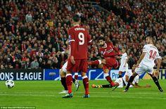 Highlight ลิเวอร์พูล 2-2 เซบีย่า ไฮไลท์ฟุตบอลยูฟ่าแชมป์เปี้ยนลีก Liverpool 2-2 Sevilla UEFA Champions League