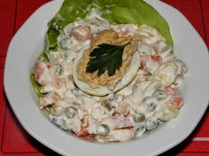 Gyermekkorom ízei: Francia saláta Strasbourgi tojással