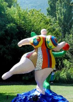 Niki de Saint Phalle at Martigny