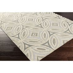 PSV-41 - Surya | Rugs, Pillows, Wall Decor, Lighting, Accent Furniture, Throws Color (Pantone TPX): Beige(12-6204), Gray(17-4402), Light Gray(14-4501)
