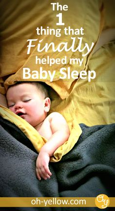 Help Baby sleep in the crib, take naps and sleep through the night. Sometimes sleep training or baby sleep schedules aren't enough, especially after a baby sleep regression. This tip will give your baby better sleep (and help with toddler sleep too! Mama Baby, Baby Schlafplan, Get Baby, Mom And Baby, Help Baby Sleep, Baby Wont Nap, Kids Sleep, Baby Sleep Schedule, Babies Stuff