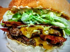 Double Bacon Cheeseburger With Special Sauce [OC] #recipes #food #cooking #delicious #foodie #foodrecipes #cook #recipe #health