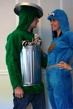 costumes Erickson its you and drew! Who wants to join us in a sesame street costume this year? Dress Up Costumes, Diy Costumes, Adult Costumes, Cosplay Costumes, Costume Ideas, Funny Costumes, Awesome Costumes, Woman Costumes, Mermaid Costumes
