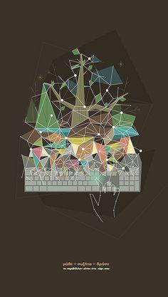 gr by Sébastien Nikolaou Pop Design, Design Art, Print Design, Graphic Design Illustration, Illustration Art, Presentation Layout, Design Research, Japanese Prints, Print Packaging