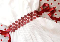 Bridal Embroidery Lace Flower Ribbon Sash Belt by NAFEstudio Wedding Shower Gifts, Wedding Gifts For Bride, Personalized Wedding Gifts, Bride Gifts, Wedding Ideas, Wedding Sash Belt, Wedding Garter Set, Lace Garter, Glamorous Wedding